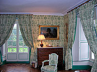 Recently redecorated Chambre Esprit de Jouy Verte