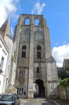 Abbaye de St-Paul de Cormery.  Photo copyrighted by Cold Spring Press.  All rights reserved.