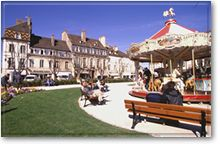 Place Carnot in Beaune