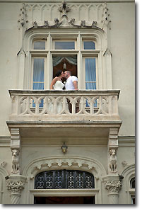 Wedding kiss.  Photo by Susan Stayne.  All rights reserved.