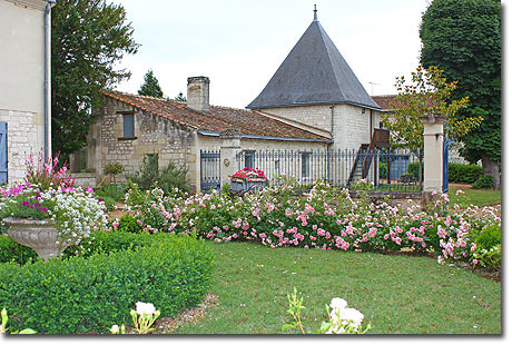 The Stone Manor House at Château de Bournand