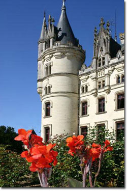 Château de Challain.  Copyright C. Nicholson.  All rights reserved.