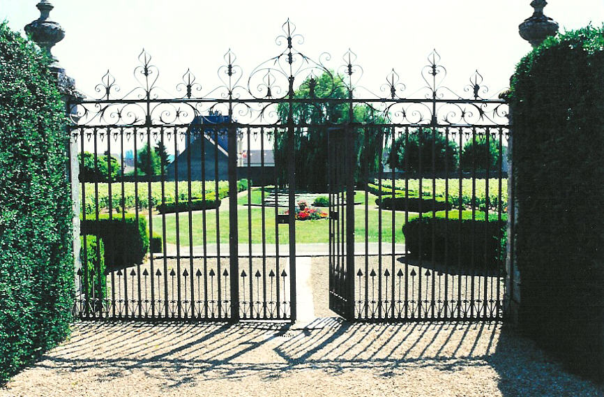 17th Century Gate at Château de Chorey