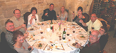 Bordeaux Wine Experience tour group.  Photo copyright Ronald Rens 2012.  All rights reserved.