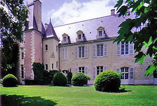 Château de Détilly in the Loire
