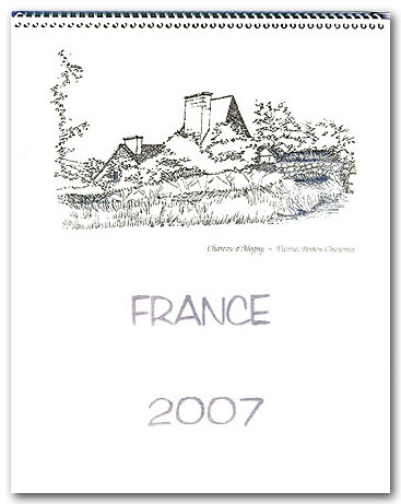 FRANCE 2007 Calendar, © 2006 - 2007  Cold Spring Press.  All Rights Reserved