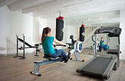 Gym and Exercise rooms.