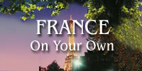 FRANCE On Your Own banner.  Photo copyright Cold Spring Press.  All rights reserved.
