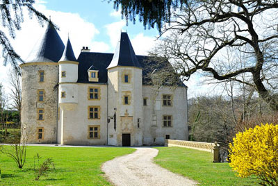 Château de Saint-Martory.  Copyright J-F Delort.  All rights reserved.