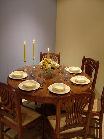 Dining area, Apartment St Paul