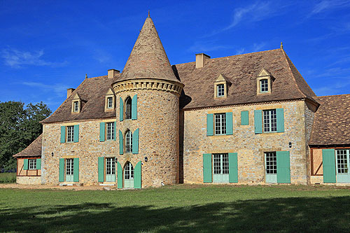 Castel Merle in the Dordogne