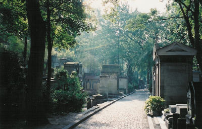 September Morning at Père-Lachaise