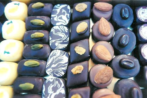 Hand-made chocolates of Guisabel Chocolaterie