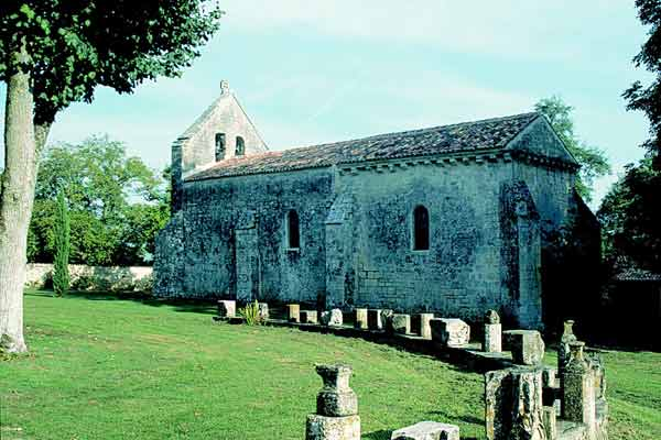 11th C. Romanesque Chapel at Crazannes